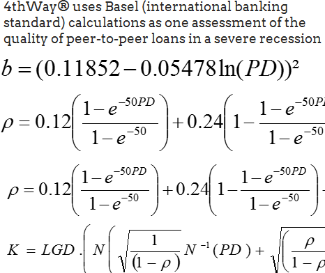 International banking standards: the Basel calculations