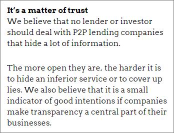 It's a matter of trust2