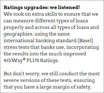4thWay PLUS Ratings upgrades
