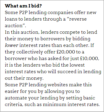 How peer-to-peer lending works