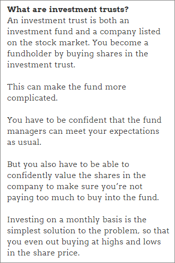 Peer-to-peer lending funds: What are investment trusts