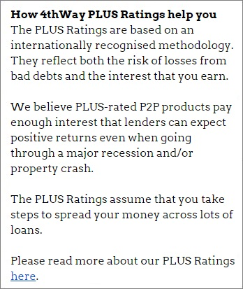 About the 4thWay PLUS Ratings