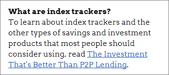 Click to find out what index trackers are