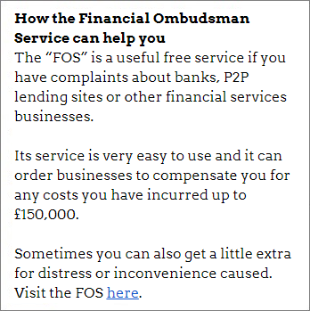 How the financial ombudsman can help you