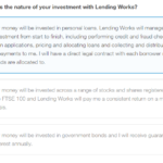 Lending Works Appropriateness Test Question 1